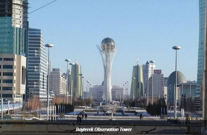 Moving the Capital Of Kazakhstan From Almaty To Astana